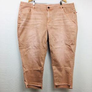 New Lane Bryant Girlfriend Skinny Crop Jeans